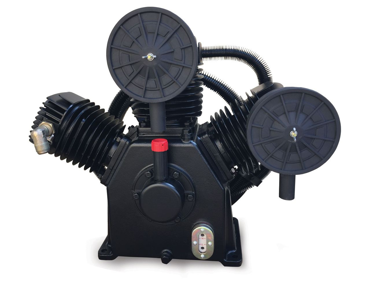 C-Aire W95II 7.5 HP Two Stage Air Compressor Pump 27 CFM