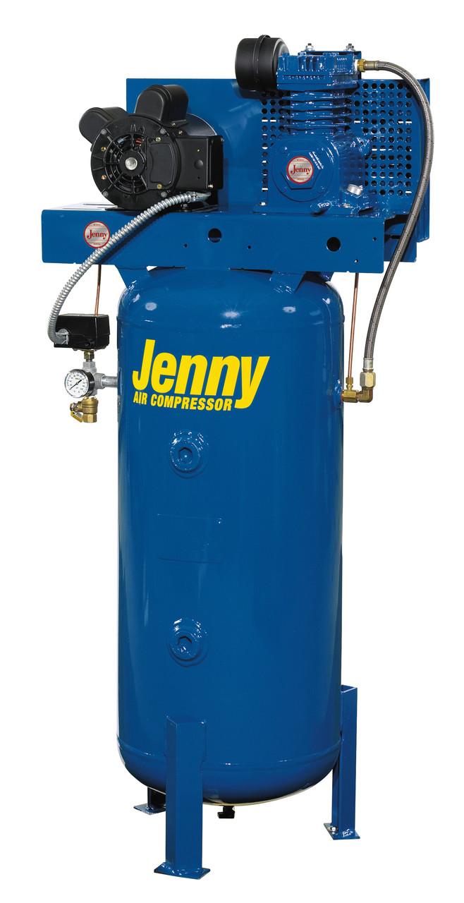 Jenny K15A-30UMV 1.5 HP 115 Volt 30 Gallon Vertical Air Compressor