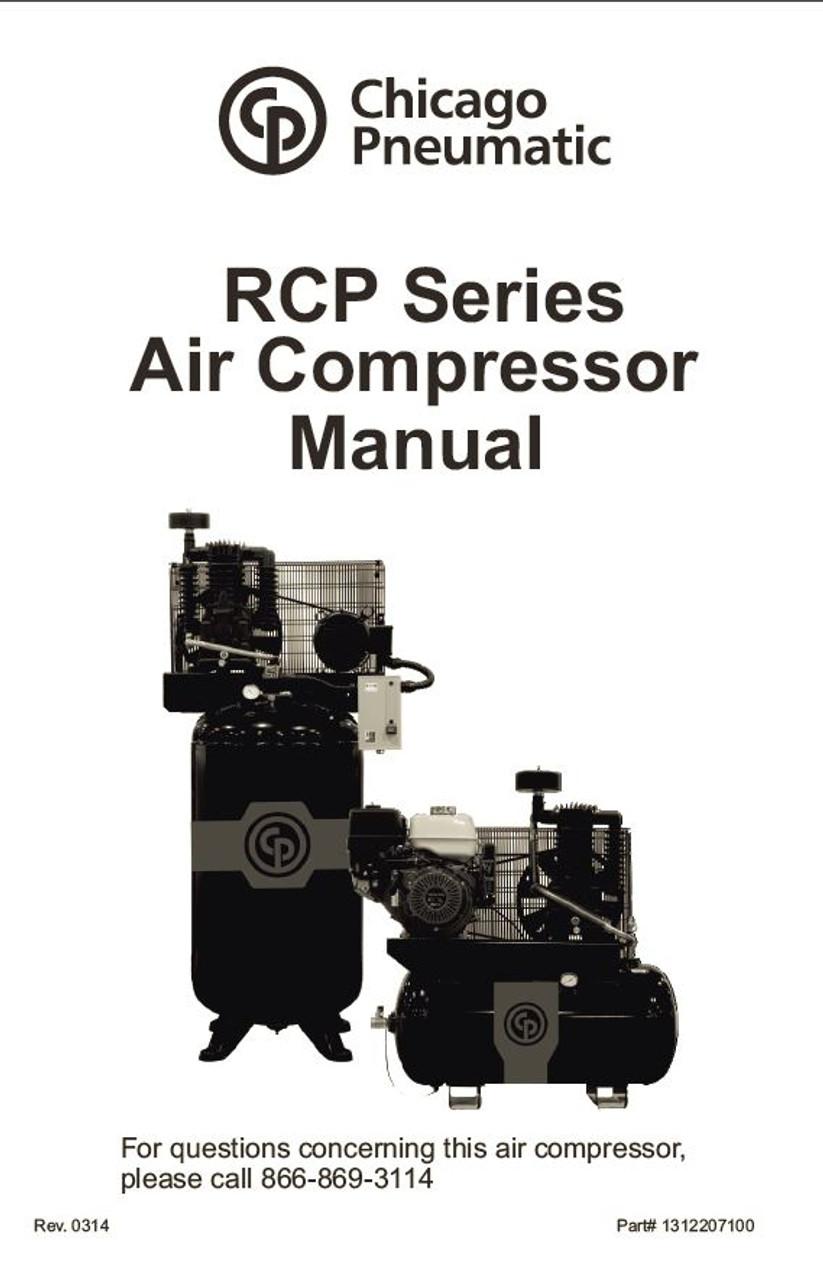 Chicago Pneumatic RCP Manual