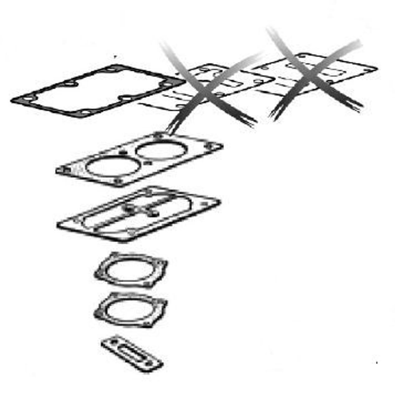Vanne Plaques Kit-b2800//b3800 Agrégat