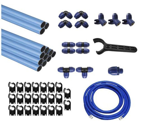 "QLKIT3 75 Foot 1/2"" Aluminum Piping System"