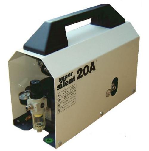 Super Silent 20-A 1/2 HP Air Compressor .7 CFM .4 Gallon Tank