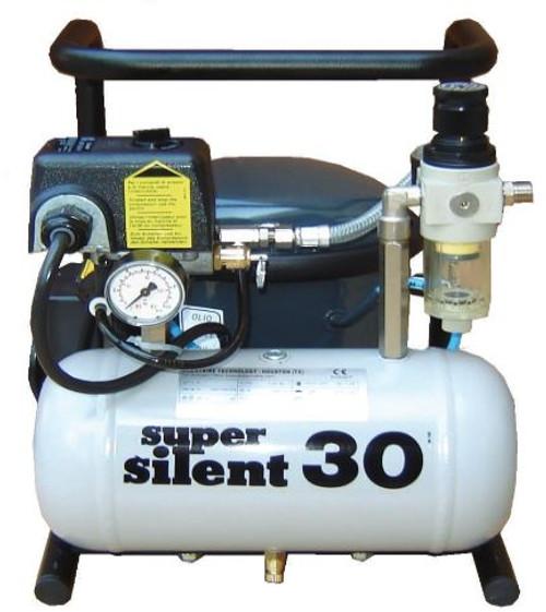 Super Silent 30-TC 1/3 HP Air Compressor 1.05 CFM .9 Gallon Tank