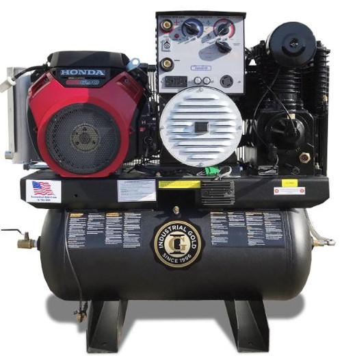 CI20GEH30-WGJS Industrial Gold 23 CFM Compressor/Generator/ Welder/Jump Starter