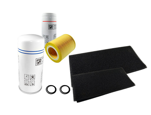 2200902713 4000 Hour Service Kit for QRS 20 and 25HP Without Dryers