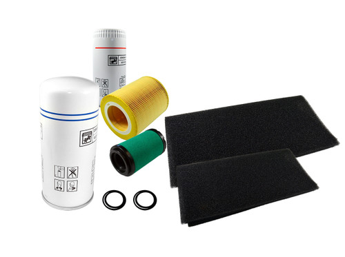 2200902716 4000 Hour Service Kit for QRS 20 and 25HP With Dryers