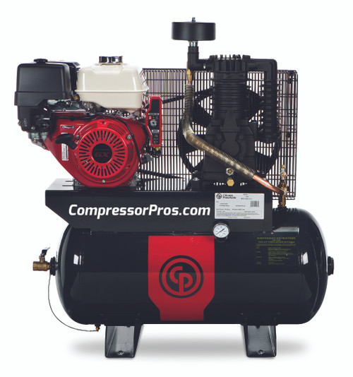 Chicago Pneumatic RCP-1130G 11 HP Honda Two Stage Gasoline Driven 30 Gallon Air Compressor