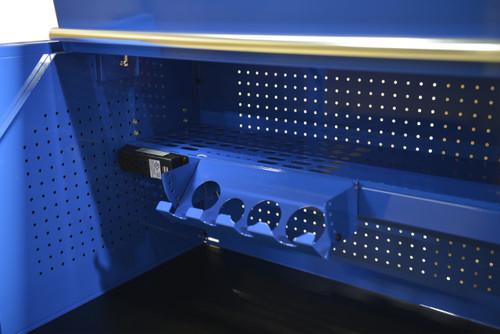 "Extreme Tools 72"" Professional Hutch RX722501HCBK (Black)"