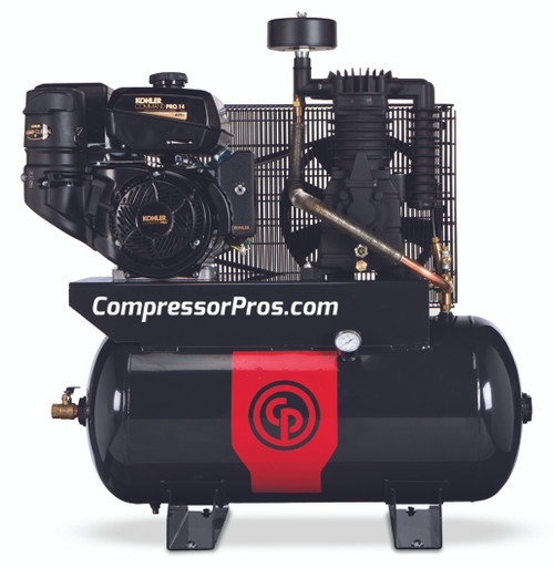 Chicago Pneumatic RCP-1430G 14 HP Kohler Two Stage Gasoline Drive 30 Gallon Air Compressor
