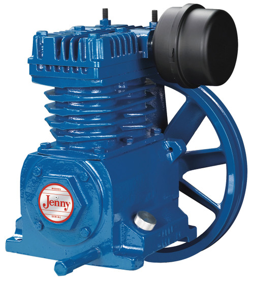 Jenny  Single Stage Model C Air Compressor Pump Used on 6.5HP Gas Drive