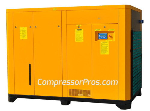 EMAX ERV1000003 100 HP Variable Speed Rotary Screw Air Compressor
