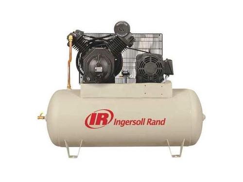 Ingersoll Rand 7100E15-VP 15 HP 120 Gallon Horizontal Air Compressor Value Plus(200 Volt/3)
