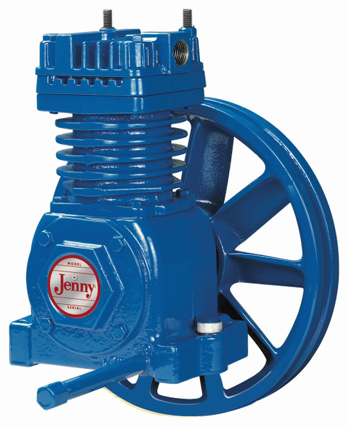 Jenny 1 to 2 HP Single Stage Model F Air Compressor Pump
