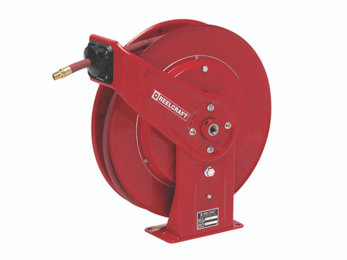 Reelcraft 7850 OLP Heavy Duty Spring Retractable Hose Reel with 50 Feet of Hose 1/2""