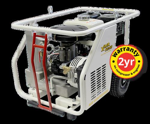 ConX X Air SC40E Compact 43 CFM Engine Driven Rotary Screw Air Compressor - Electric Start