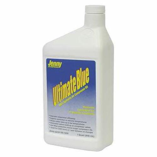 Jenny ES 100 Ultimate Blue Synthetic Compressor Oil 1 Quart