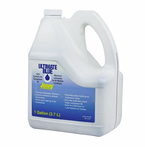 Jenny ES 100 Ultimate Blue Synthetic Compressor Oil 1 Gallon
