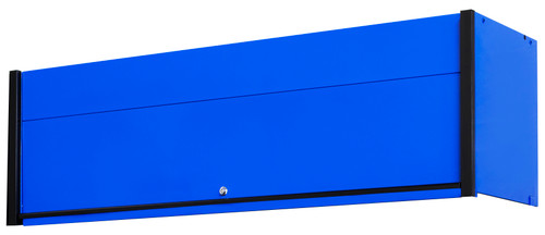 """Extreme Tools DX722101HCBLBK 72"""" x 21"""" Hutch Blue with Black Drawer Pulls"""