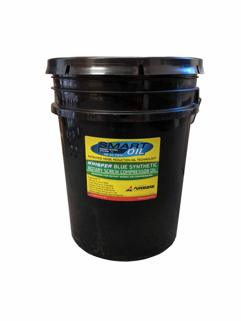 OILROT103P EMAX Airbase Smart Oil - Whisper Blue Synthetic 5 Gallon Pail