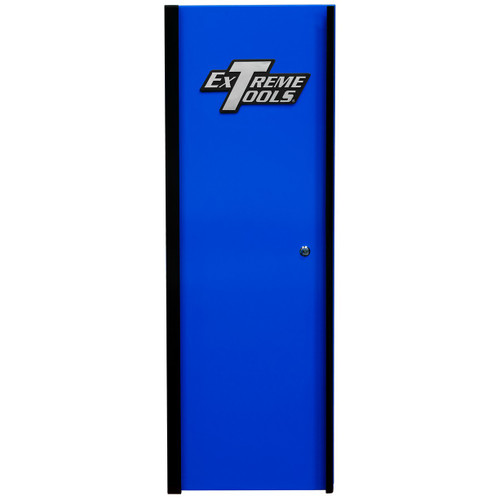 "Extreme Tools DX192100SLBLBK 19"" x 21"" Side Locker Blue with Black Handle"