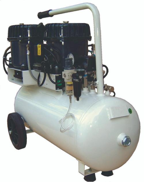Val-Air 150-50 AL 3 x 1/2 HP 6.4 CFM Silent Air Compressor by Silentaire Technologies