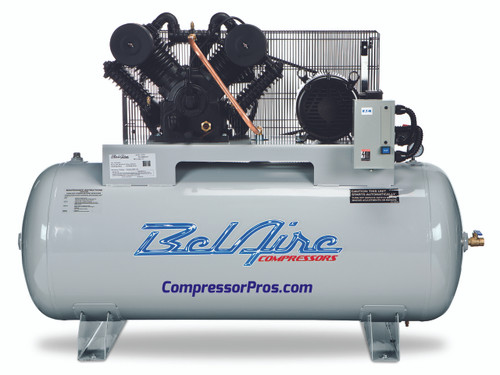 BelAire 6312H4 10 HP 460 Volt Two Stage Cast Iron 120 Gallon Air Compressor
