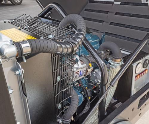 Elgi D90KA 90 CFM Portable Rotary Screw Air Compressor - Tow Behind