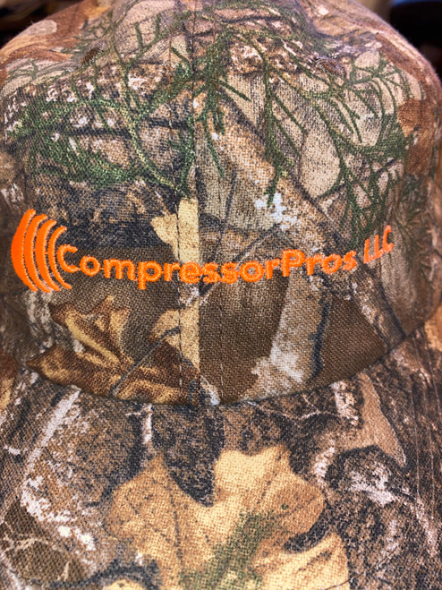 CompressorPros LLC Camo Hat