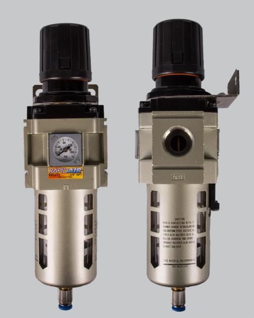 "RapidAir K93216 1/2"" Regulator and Filter"