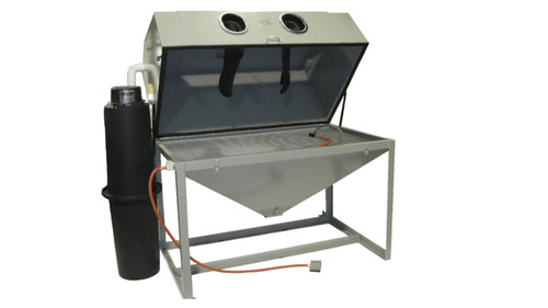 Cyclone Model FT 6035 Bead Blast Cabinet with Dust Collector