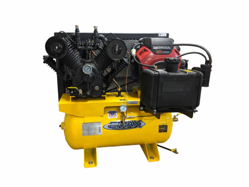 Emax EGES1860ST 18 HP Honda Gasoline Driven Two Stage 60 Gallon Air Compressor