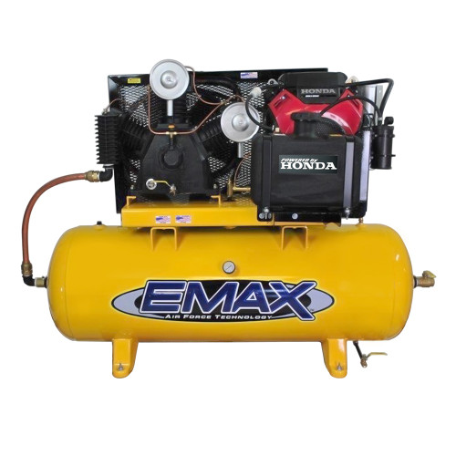Emax EGES2480ST 24 HP Honda Gasoline Driven 80 Gallon Air Compressor