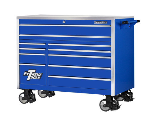 "Extreme Tools EX5511RCBL 55"" 11 Drawer Professional Roller Cabinet Tool Box"