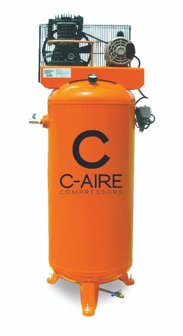 C-Aire A015V060-1115 1.5 HP 115 Volt Single Phase 60 Gallon Air Compressor
