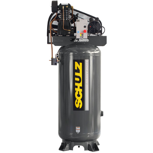 Schulz 580VL20X-1 5HP Single Phase Two Stage 80 Gallon Air Compressor