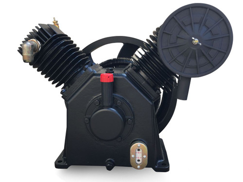 C-Aire V95II 5 HP Two Stage Air Compressor Pump 17 CFM
