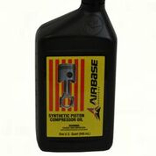 OIL004 Airbase 1 Quart Full Synthetic Piston Oil EMAX Compressors