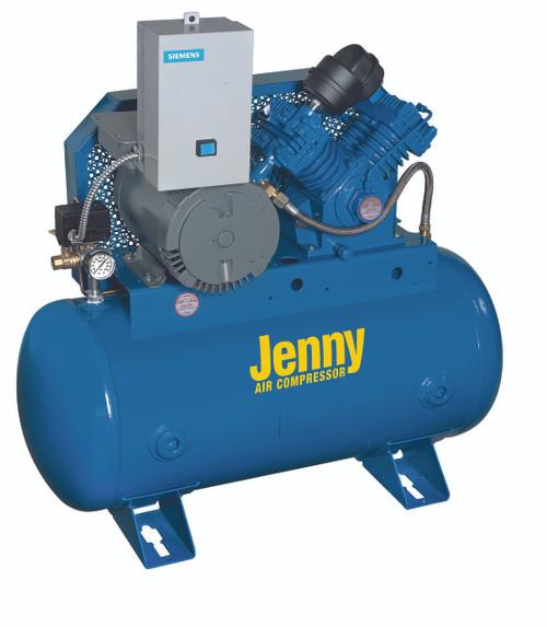Jenny G5S-30UMS 5 HP 230 Volt Single Phase Single Stage Fire Sprinkler System Air Compressor