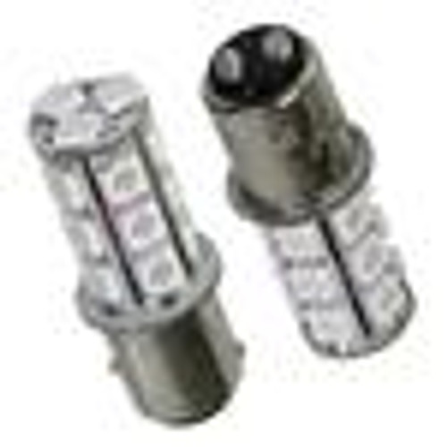 1157 LED BULB WHITE PAIR 65/73