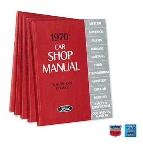 FORD SHOP MANUAL SET 1970
