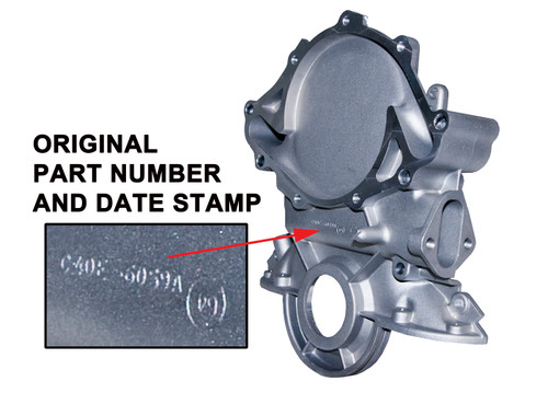 TIMING COVER - PERIOD CORRECT 289/302 65/73