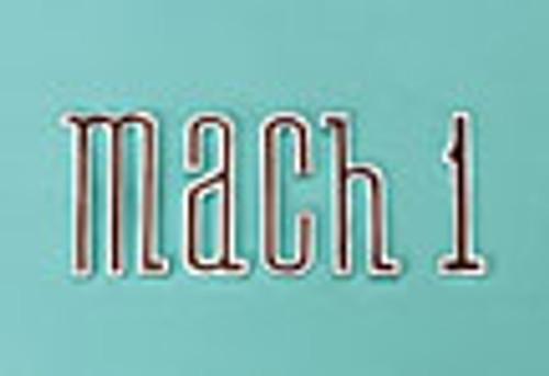 MACH 1 TRUNK EMBLEM 70