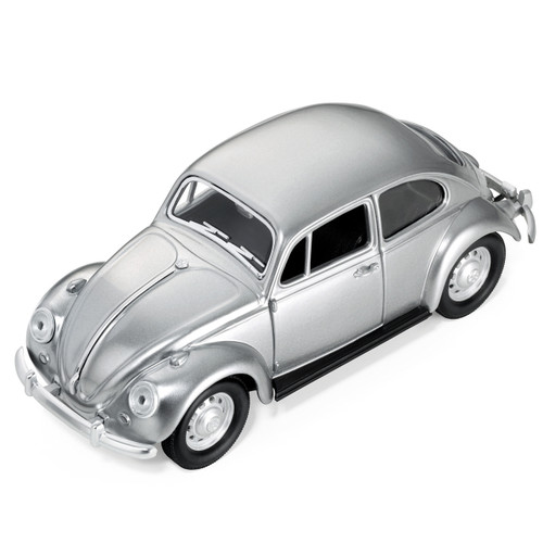 VW Beetle Paper Clip Holder Silver