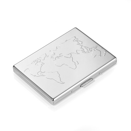 Credit Card Case PVC Insert World Map