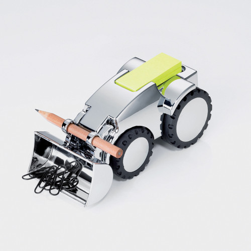 Paper Clip Holder & Paper Weight Excavator