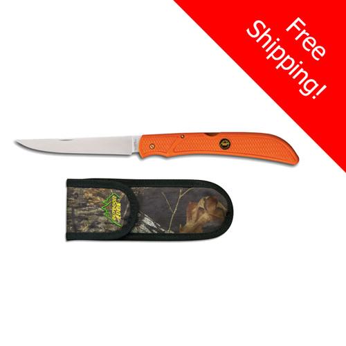 Outdoor Edge - Field & Bone Knife in Blaze Orange