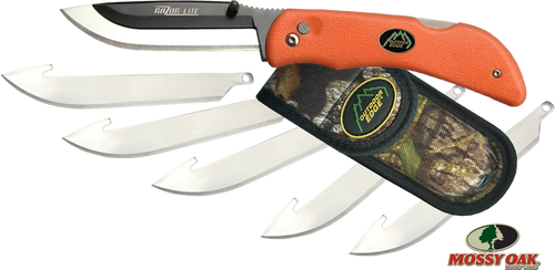 Razor-Blaze, Sheath & 6 Blades - Outdoor Edge