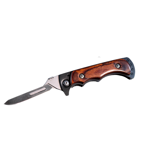 Weibe Vixen Folding Skinning Knife