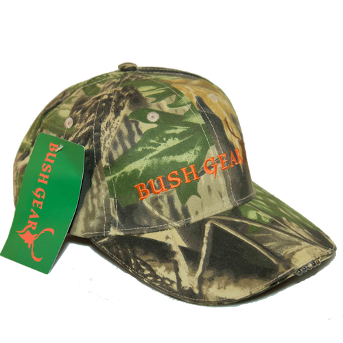 Bush Gear Camo Cap - With LED