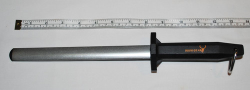 "Diamond Oval Sharpening Steel 8"""